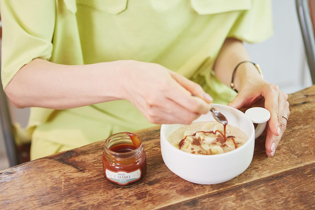 石田紗英子さんが発見した、「キャラメライフ」のおいしい食べ方。|CARAMELIFE